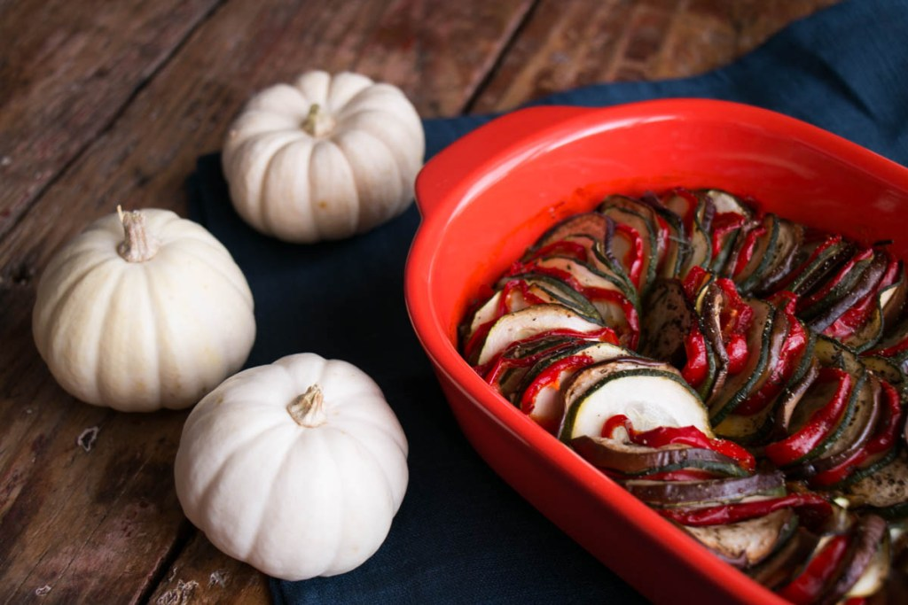 Baked Ratatouille | My Kitchen Love