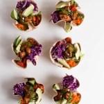 Fish Taco Salad Bowls