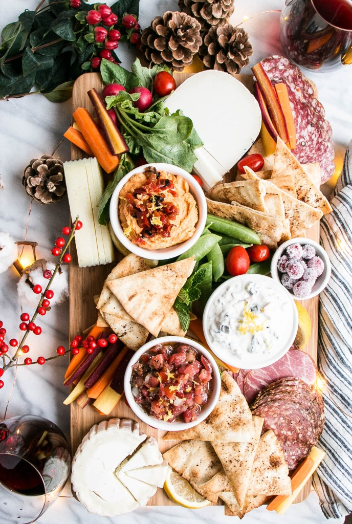 Ultimate Charcuterie Board & Homemade Sumac Pita Chips