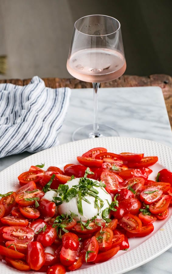 Tastiest Simple Tomato Salad | My Kitchen Love. Live simply and deliciously all summer long with the crazy good tomato #salad.