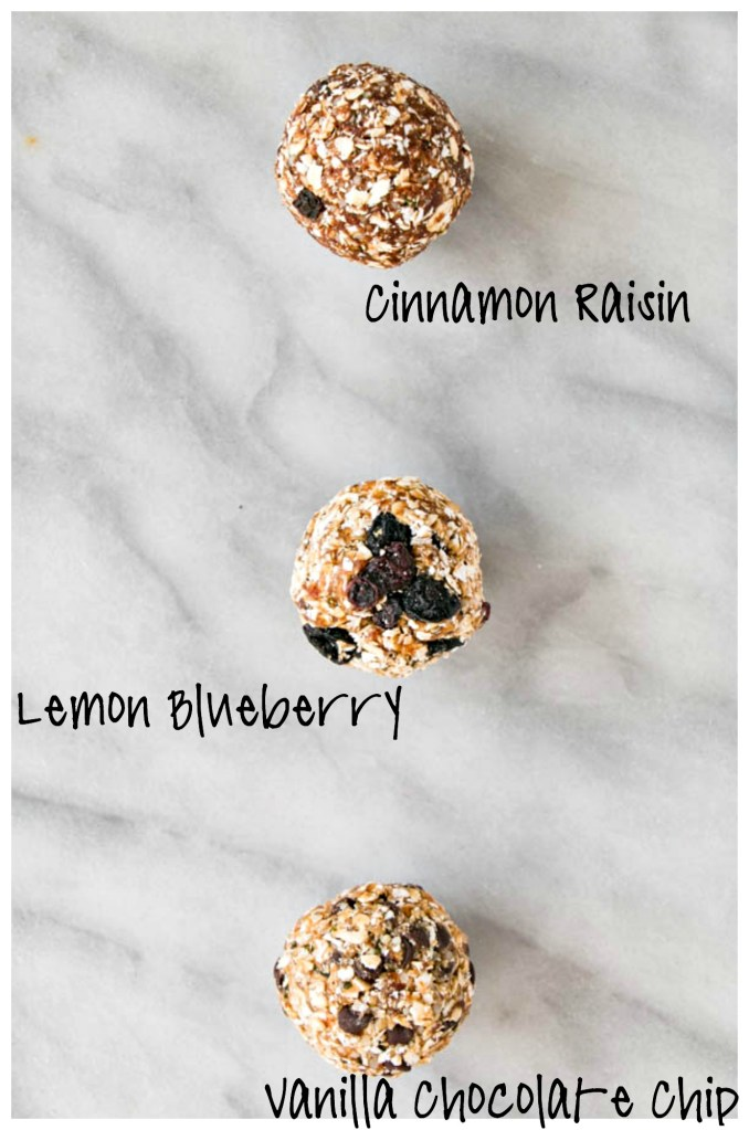 Back-to-School Snacks – Kid-Friendly Energy Bites 3 Ways