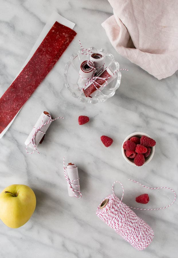 Back to School Snacks - Homemade Fruit Leather