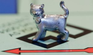 Monopoly cat marker