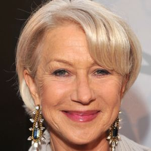 Helen Mirren, British actress