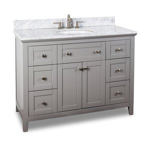 "jeffrey alexander large bathroom vanities - 48"" bathroom vanity with"