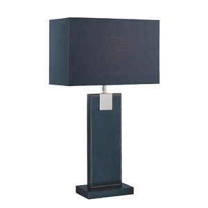 Contemporary Table Lamps 24 1 2 Tall Table Lamp In Black Lite Source Ls 21282blk Blk