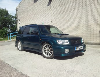 Subaru Forester Stb specifications