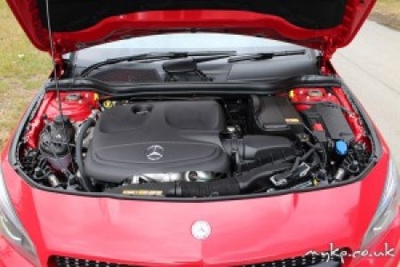 Mercedes CLA Engine Bay