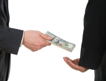 Political Corruption, backhander