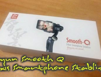 Zhiyun Smooth Q 3-axis gimbal for smart phones - mykp.co.uk