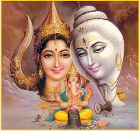 Worship the Lord Shiva and Goddess Parvati during Pradosh Vrat dates in 2014.