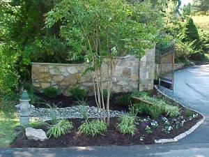 Photo of stone wall