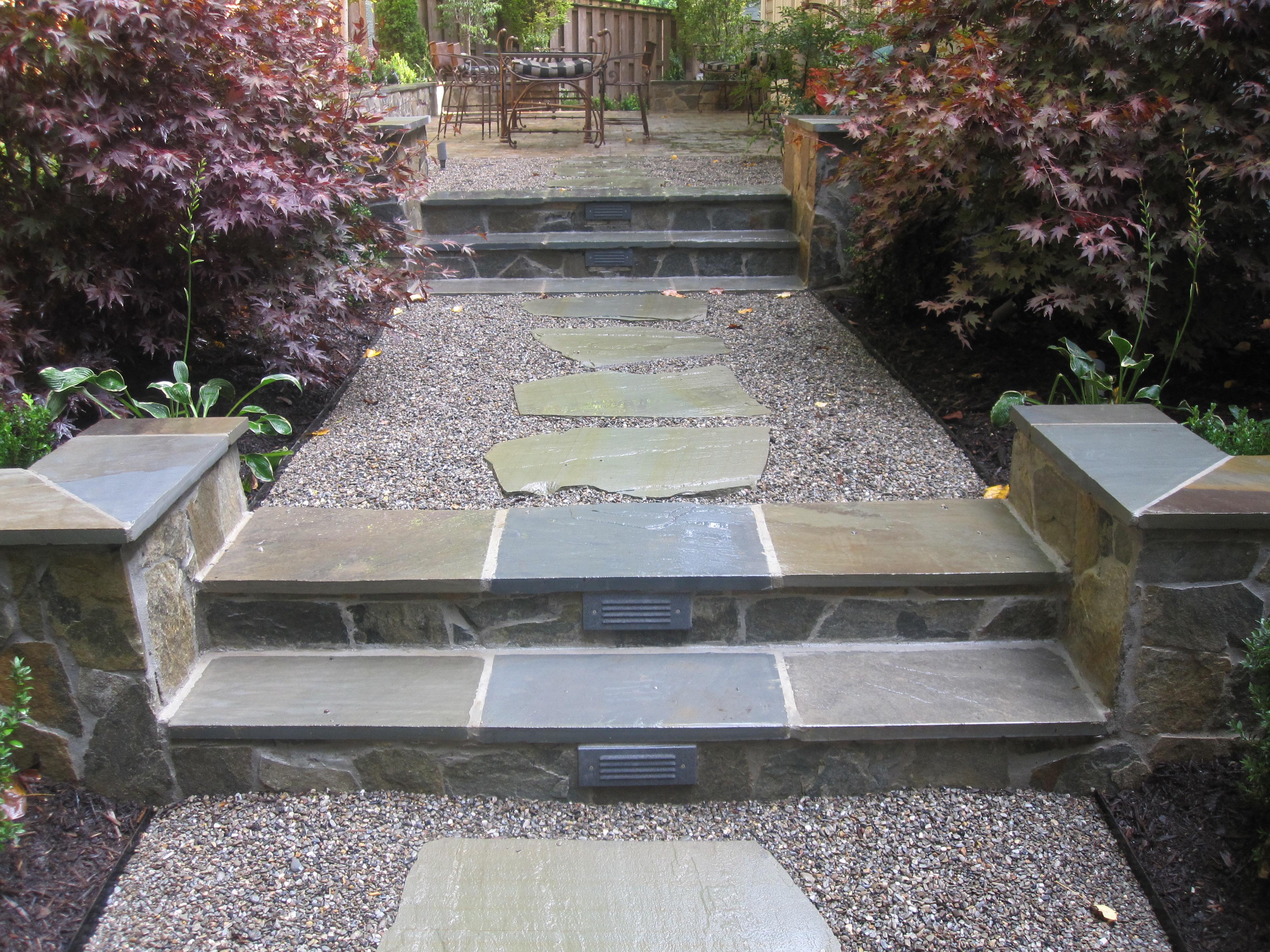 Photo of stone steps
