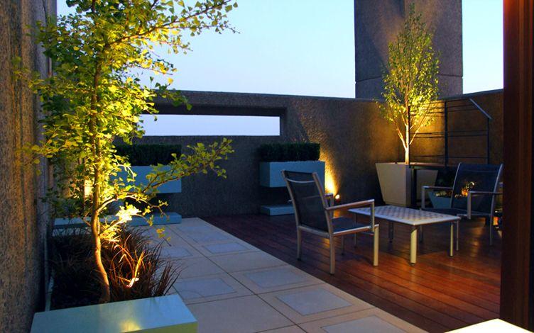 London Roof Garden Designers Mylandscapes Modern Roof