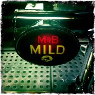 M&B Mild – William Worthington's (MolsonCoors) Brewery