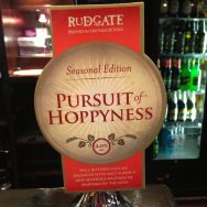 Pursuit of Hoppyness – Rudgate Brewery