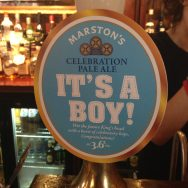 It's a Boy - Marston's Brewery