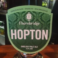 Hopton - Thornbridge Brewery