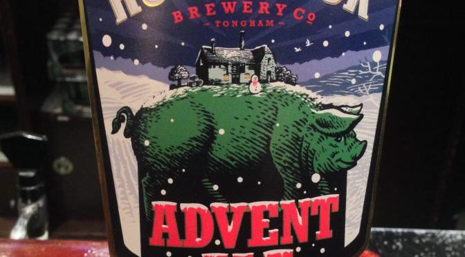 Advent Ale - Hogs Back Brewery