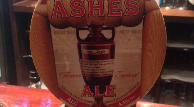 Ashes Ale - Marston's Brewery