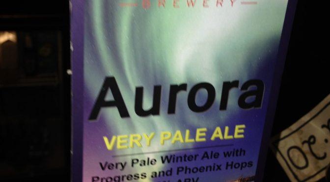 Aurora Very Pale Ale - Binghams Brewery