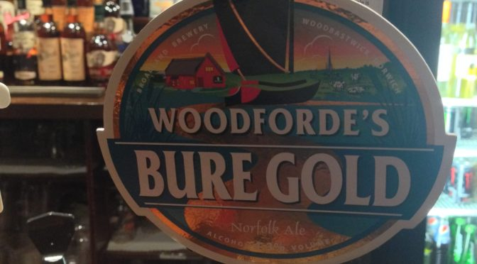 Bure Gold - Woodforde's Brewery