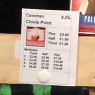 Clovis Point Brown – Caveman Brewery