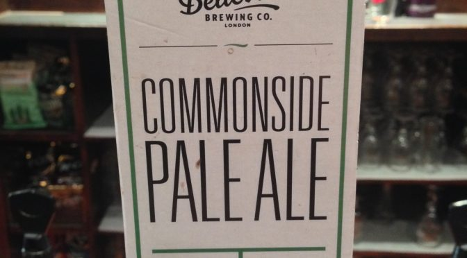 Commonside Pale Ale - Belleville Brewery