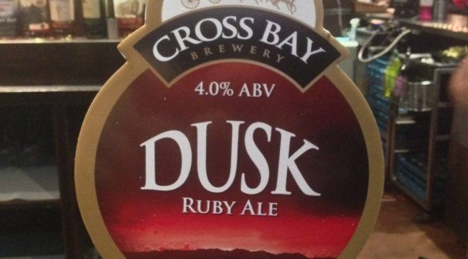 Dusk Ruby Ale - Cross Bay Brewery
