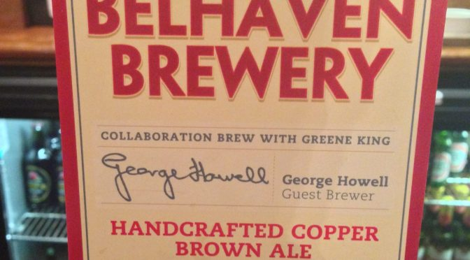 Handcrafted Copper Brown Ale - Belhaven Brewery