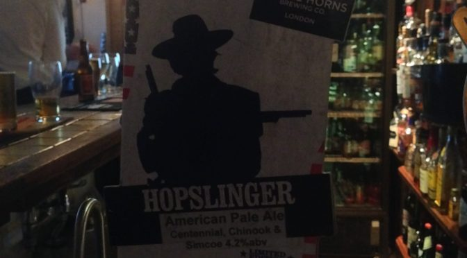 Hopslinger - By The Horns Brewing Co