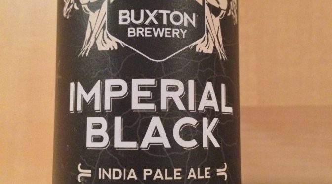 Imperial Black India Pale Ale - Buxton Brewery