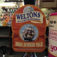 India Summer Pale – Weltons Brewery