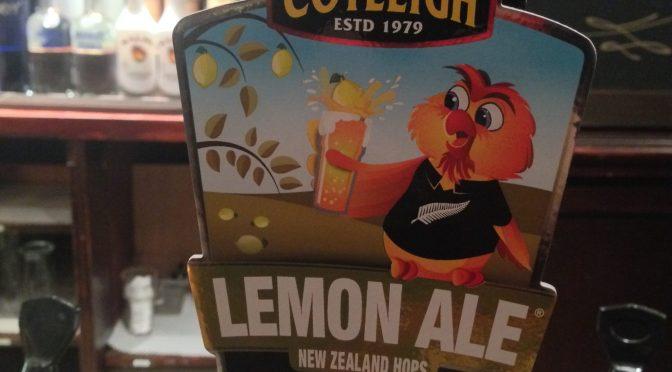Lemon Ale - Cotleigh Brewery