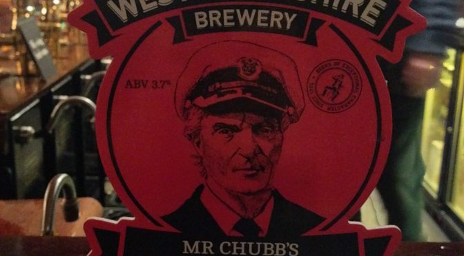 Mr Chubbs Lunchtime Bitter - West Berkshire Brewery