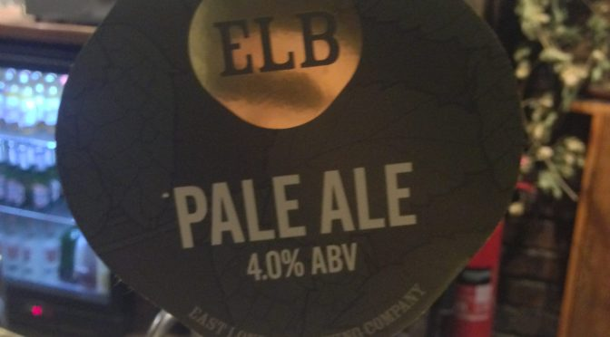 Pale Ale - East London (ELB) Brewery