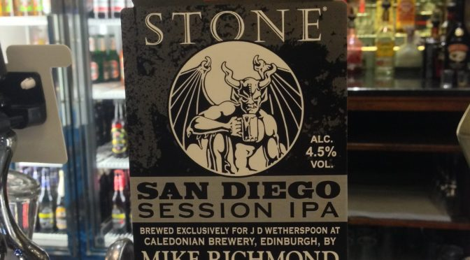San Diego Session IPA - Stone (Caledonian) Brewery