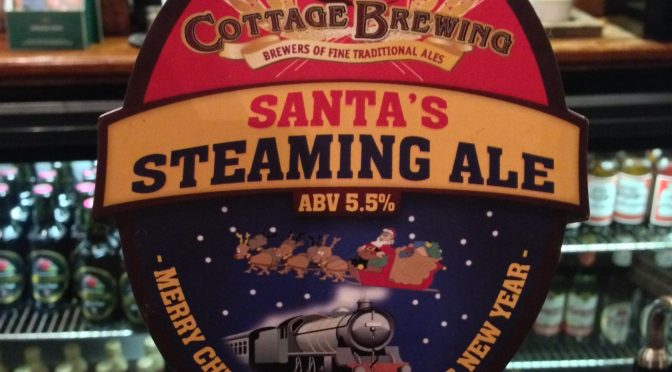 Santa's Steaming Ale - Cottage Brewery