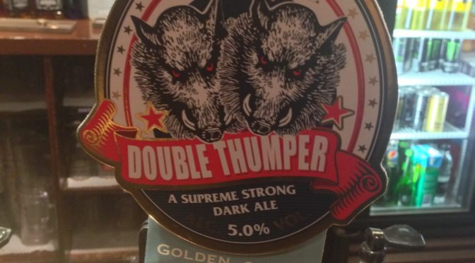 Shipyard Double Thumper – Ringwood (Marston) Brewery
