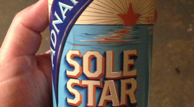 Sole Star - Adnams Brewery