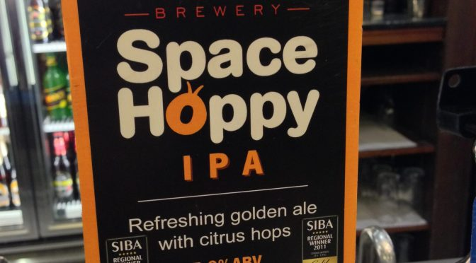 Space Hoppy IPA - Binghams Brewery