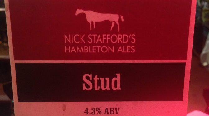 Stud – Nick Stafford's Hambleton Ales