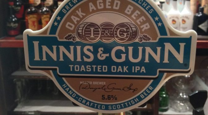 Toasted Oak IPA – Innis & Gunn Brewery