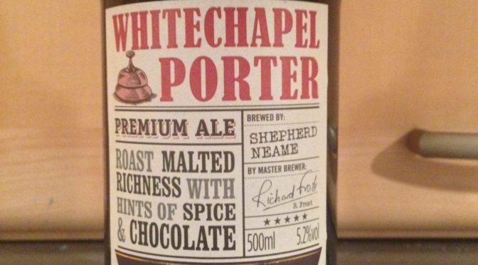 Whitechapel Porter - Shepherd Neame Brewery