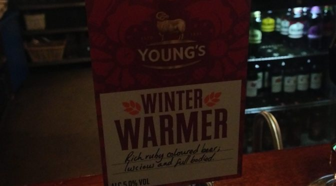 Winter Warmer - Youngs Brewery