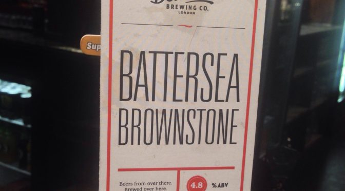 Battersea Brownstone - Belleville Brewery