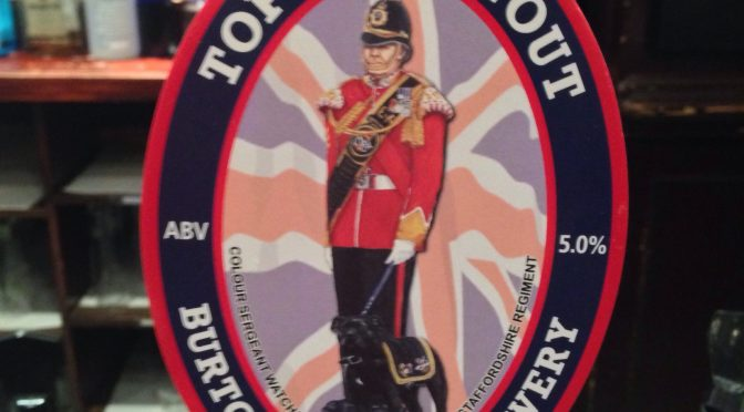 Top Dog Stout – Burton Bridge Brewery