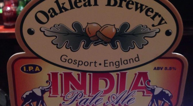 India Pale Ale – Oakleaf Brewery