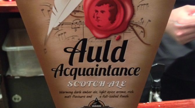 Auld Acquaintance Scotch Ale - Caledonian Brewery