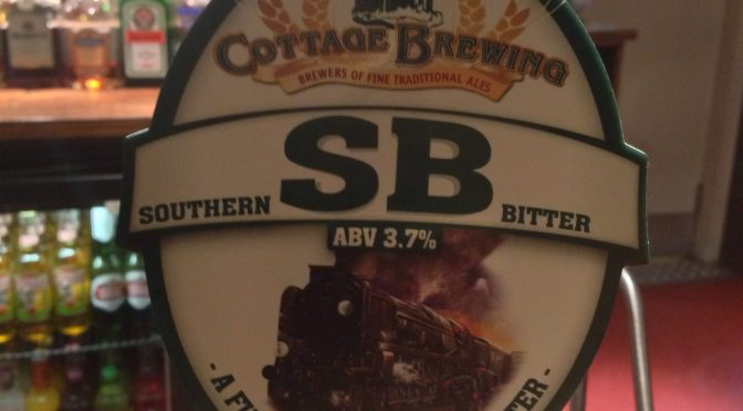 Southern Bitter (SB) – Cottage Brewing